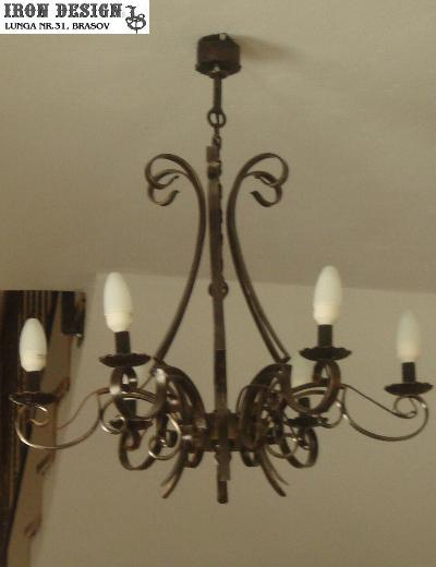 iron design lustre si candelabre fier forjat. Black Bedroom Furniture Sets. Home Design Ideas